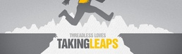 Threadless Loves Taking Leaps