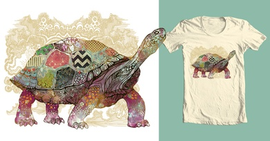 Patchwork Turtle