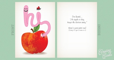 There's a Worm in that Apple!