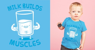 Milk Builds Muscles