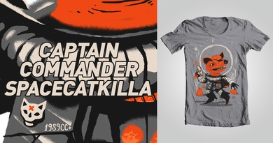 CAPTAIN COMMANDER SPACECATKILLA