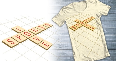 scrable love sports