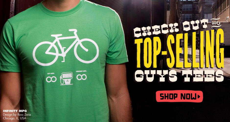 Shop Threadless Popular Guys T-Shirts