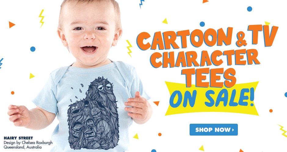 Shop Threadless Cartoon & TV Character $15 T-Shirts