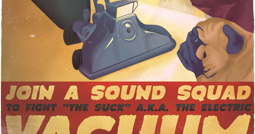 Sound Squad Anti-Vacuum PSA