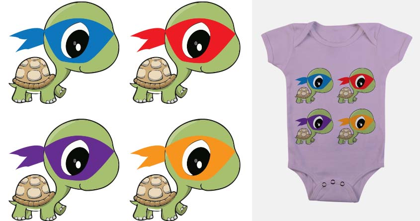 Cute Cartoon Baby Ninja Turtles | www.pixshark.com ...