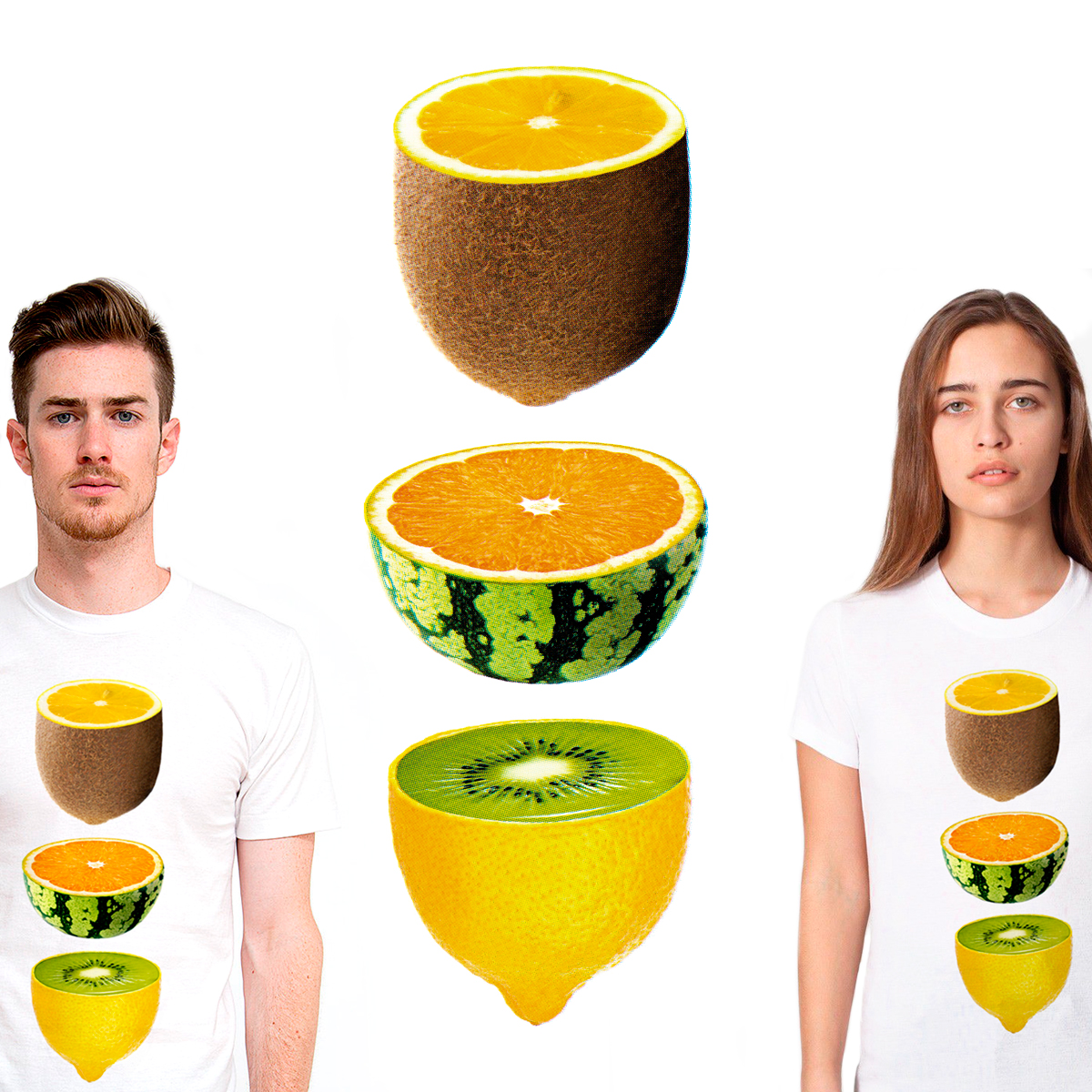 Mixed Fruits, a cool t-shirt design