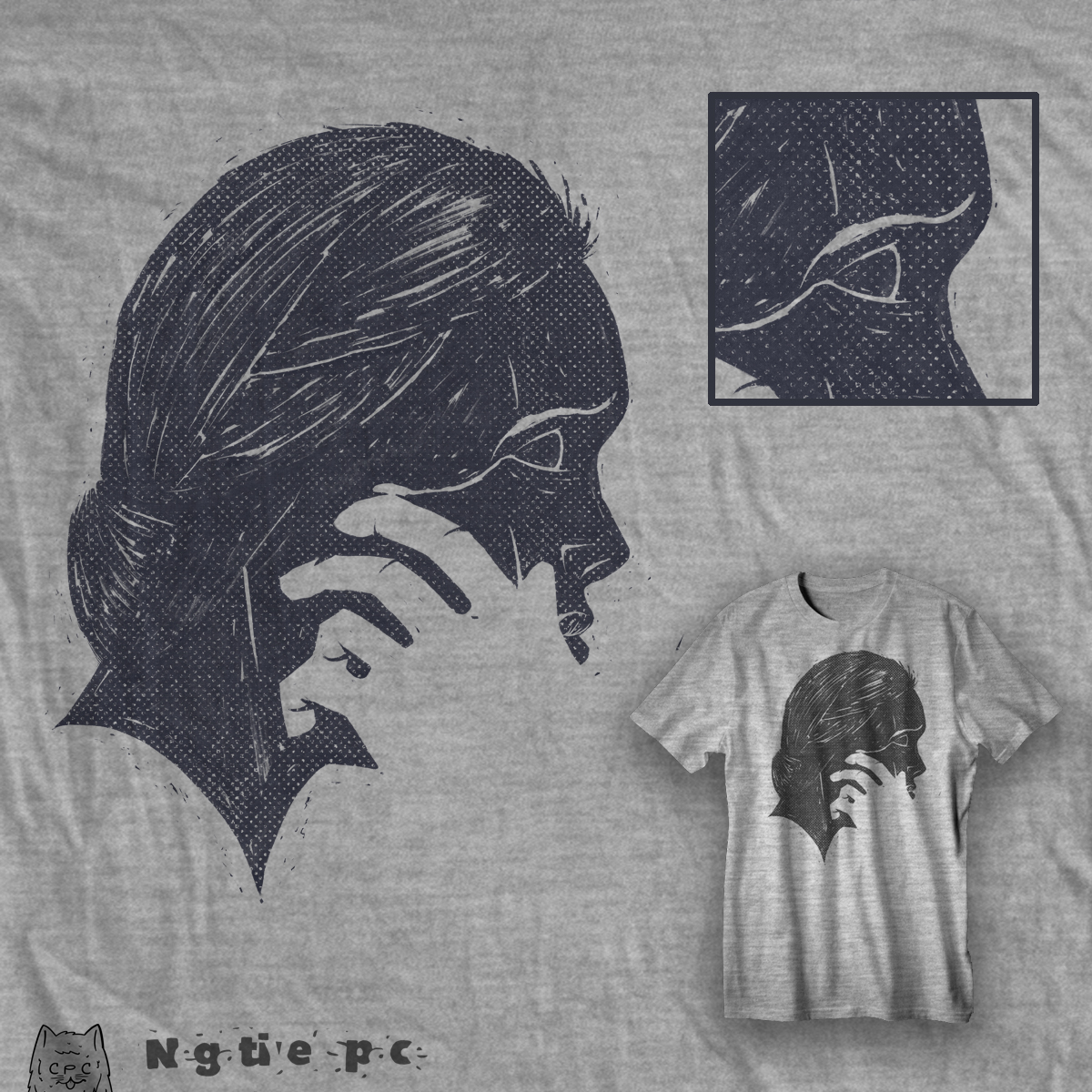 miss you, a cool t-shirt design