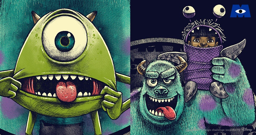THE WACKY MONSTERS