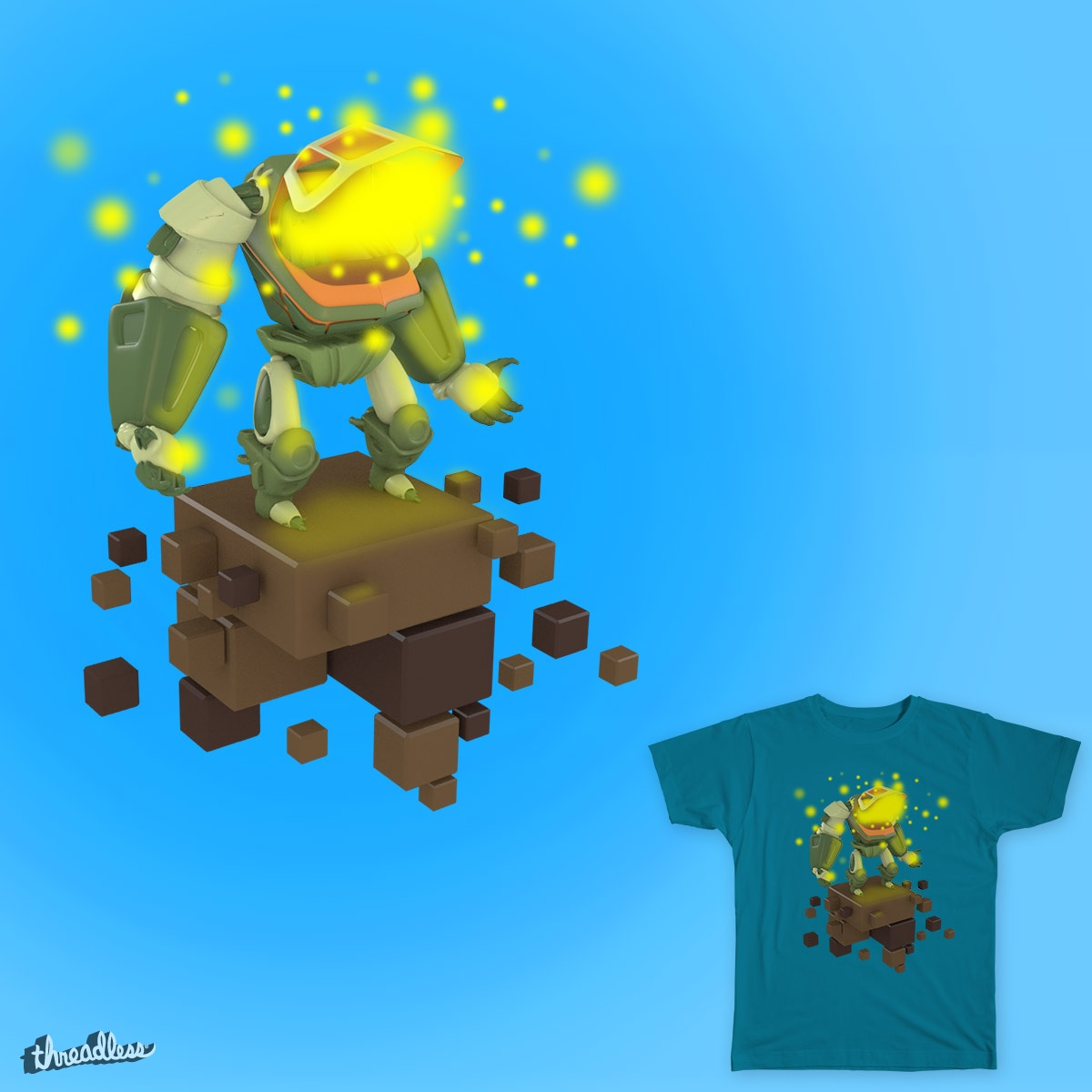 Ascension, a cool t-shirt design
