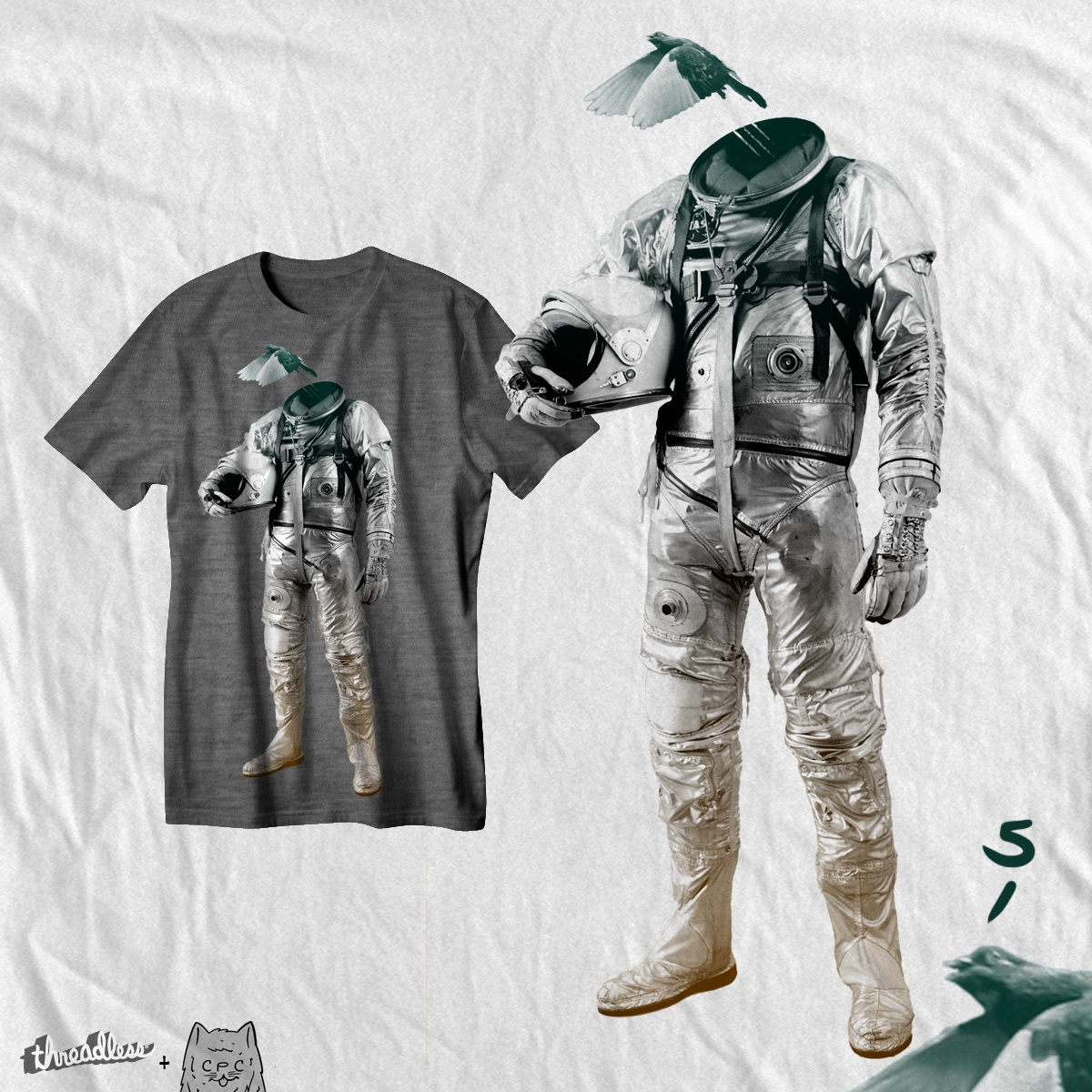 fly, a cool t-shirt design