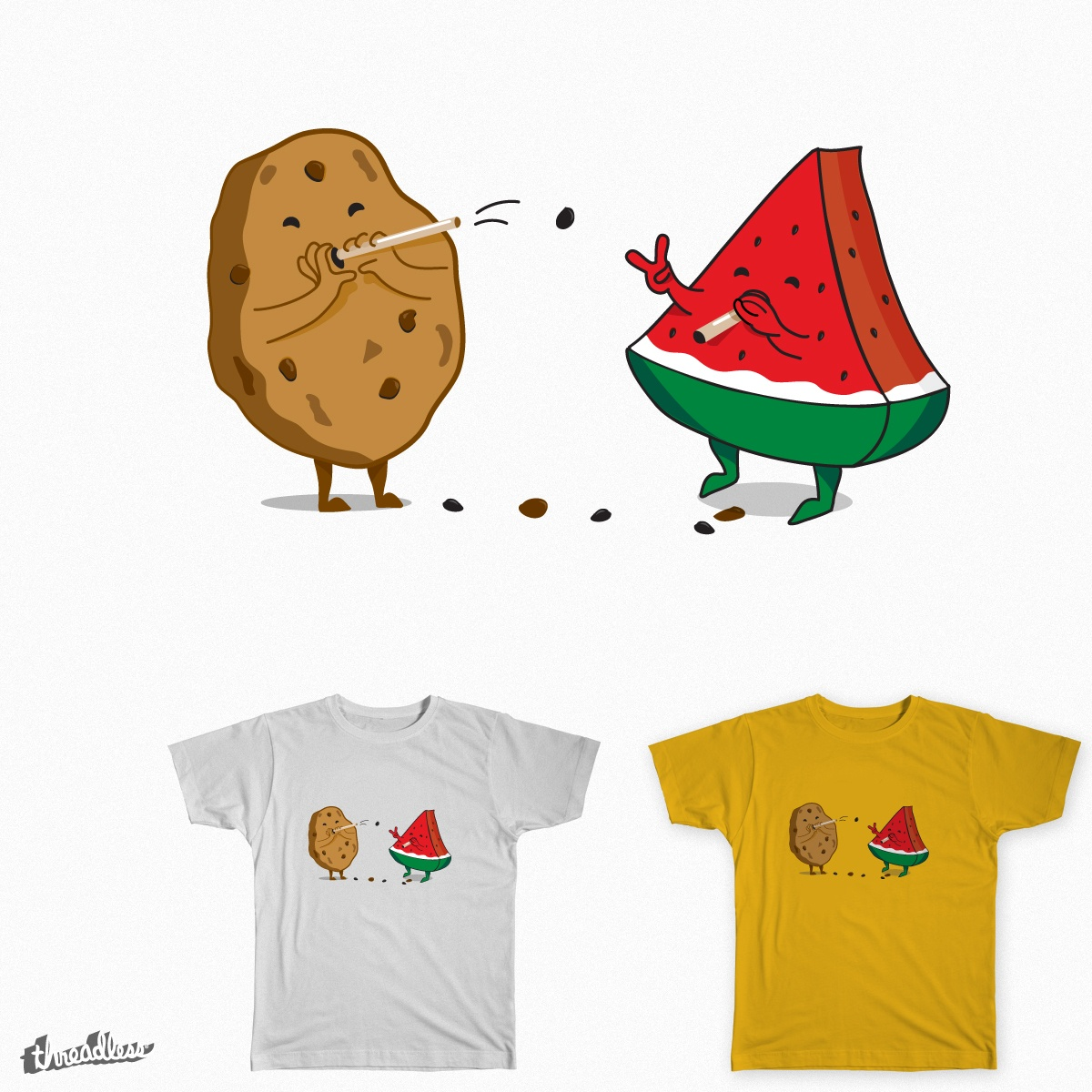 The truth behind, a cool t-shirt design