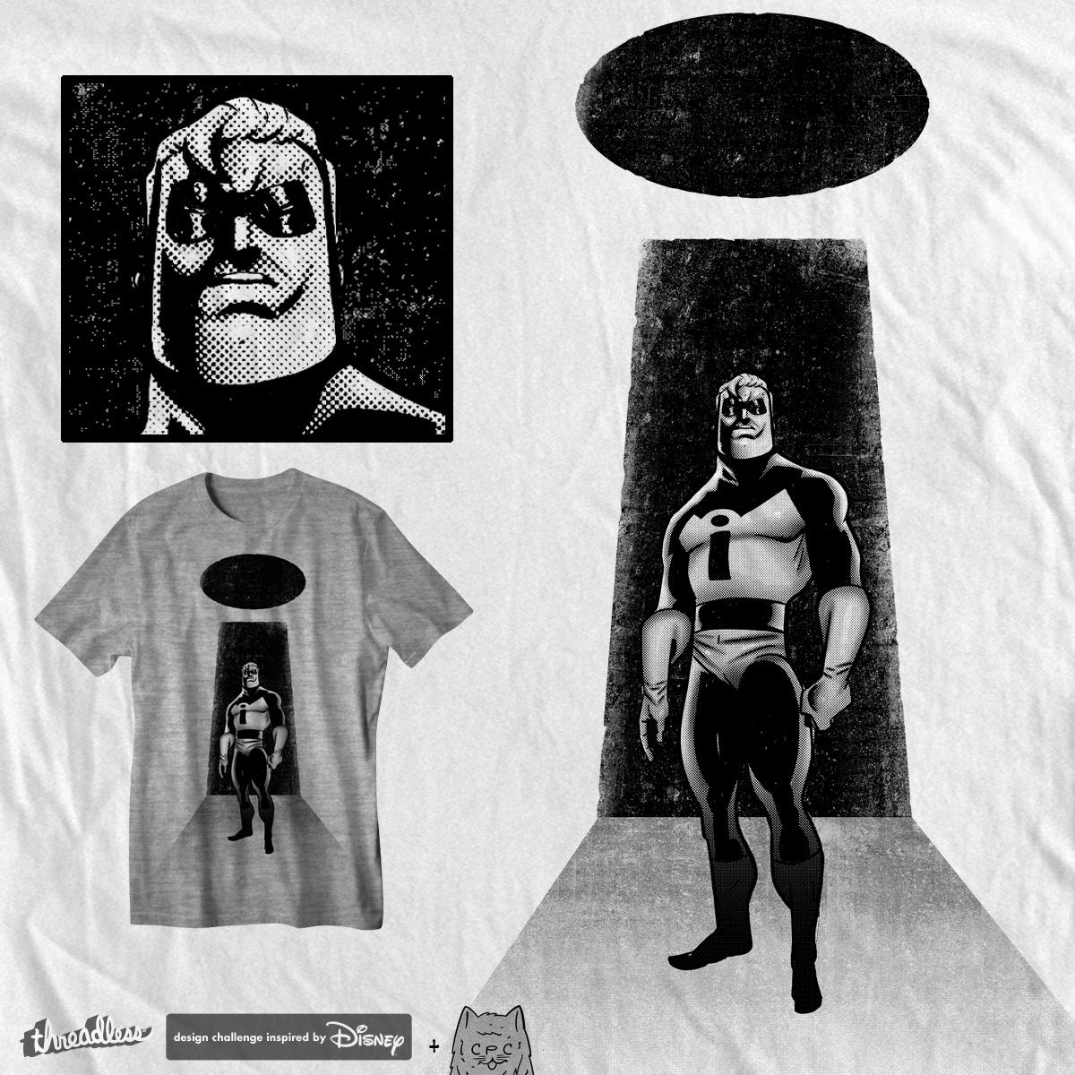 incredi-bold, a cool t-shirt design