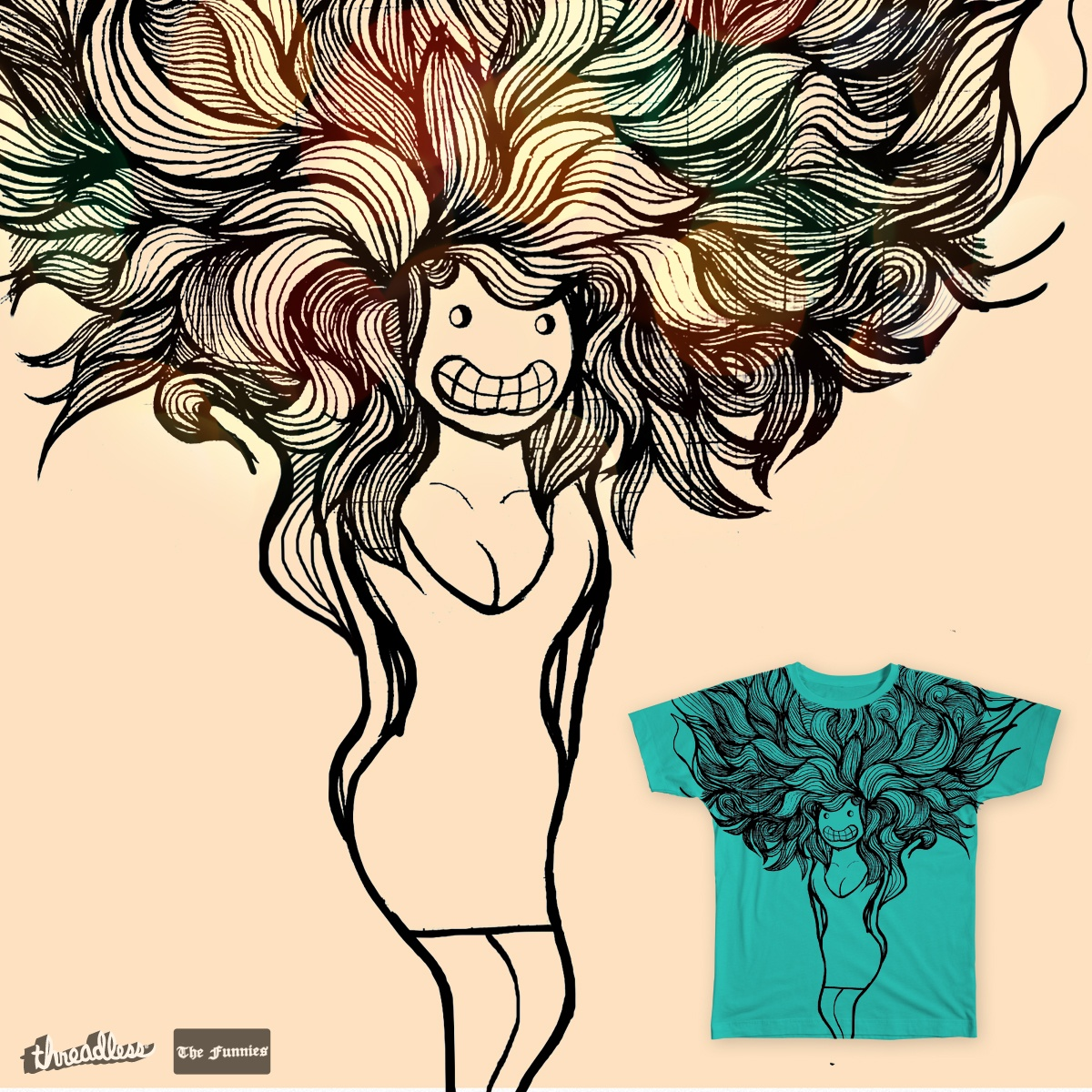 DooDuSa, a cool t-shirt design
