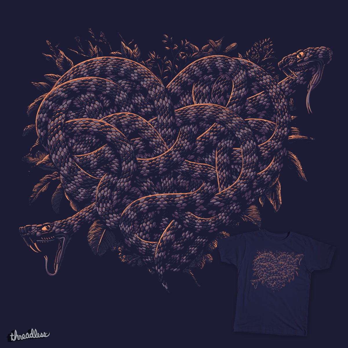 Love struck, a cool t-shirt design