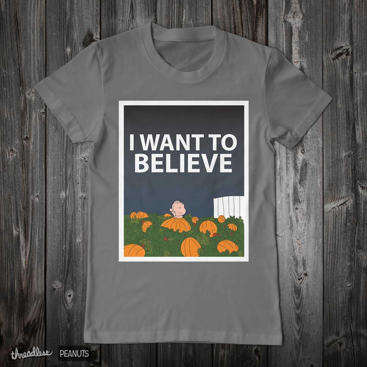 I Want To Believe, a cool t-shirt design