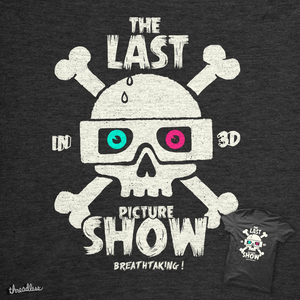 Last Picture Show, a cool t-shirt design