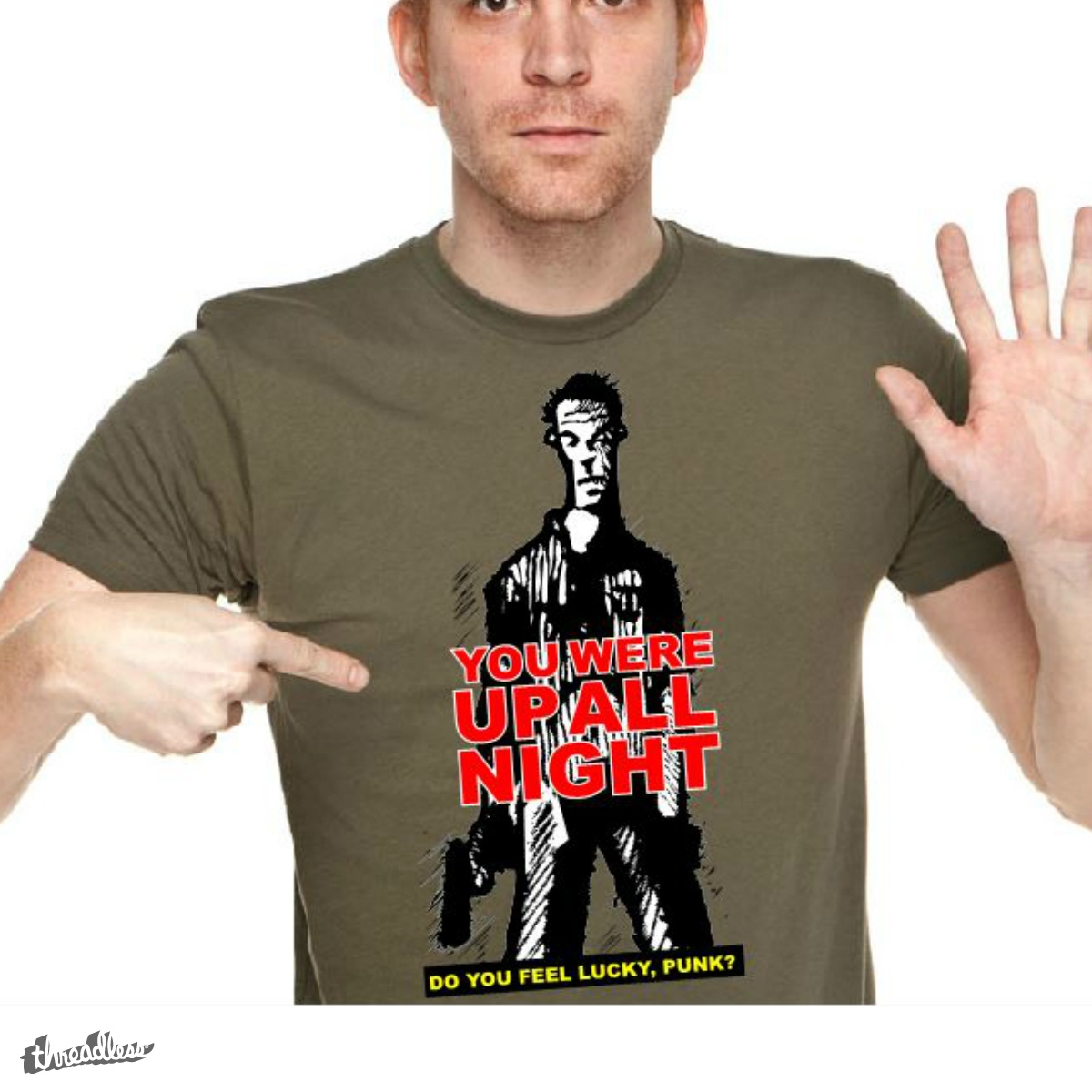 Do You Feel Lucky, a cool t-shirt design