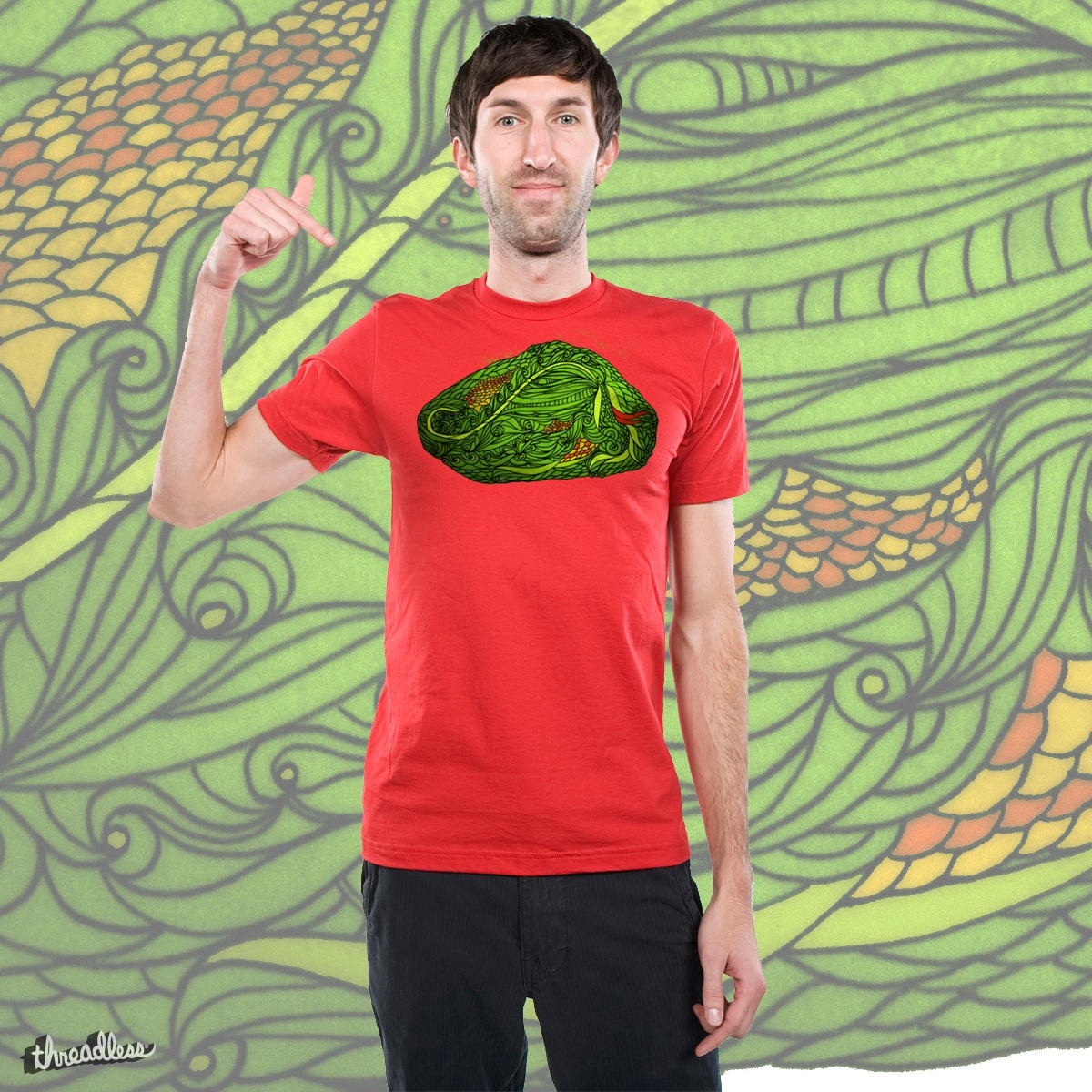 Snake!, a cool t-shirt design