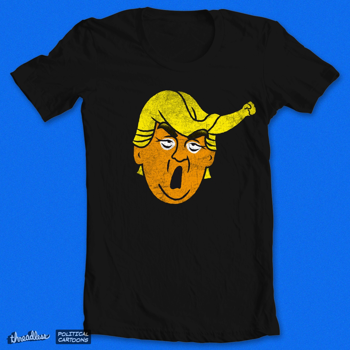 Hate is in the Hair, a cool t-shirt design
