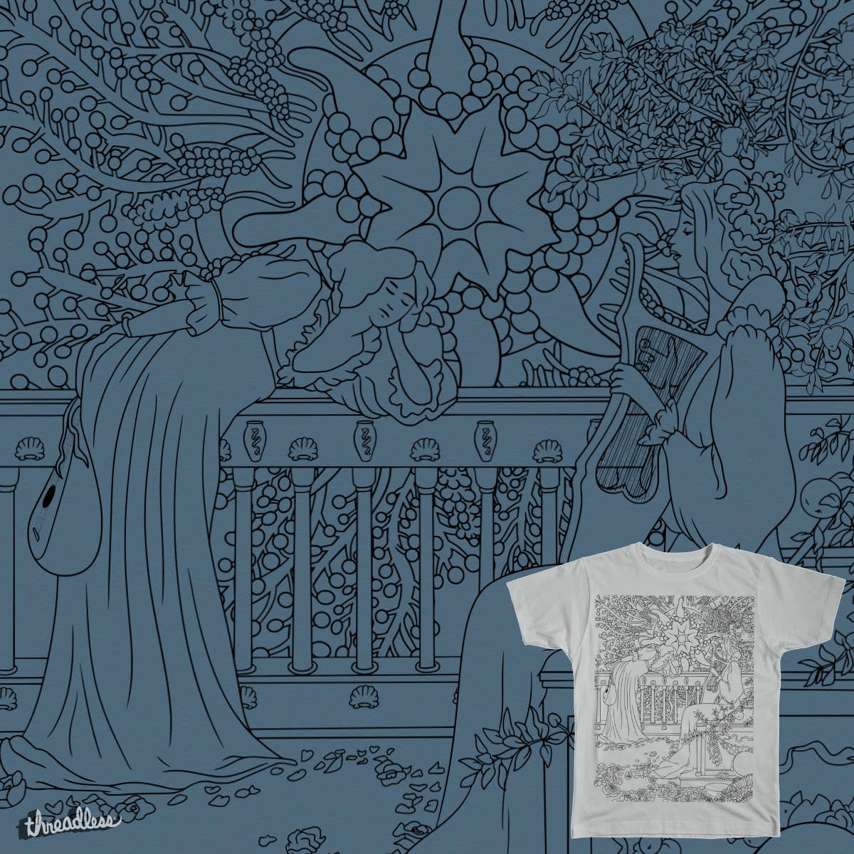Concert for the Lovecraftian Horror, a cool t-shirt design