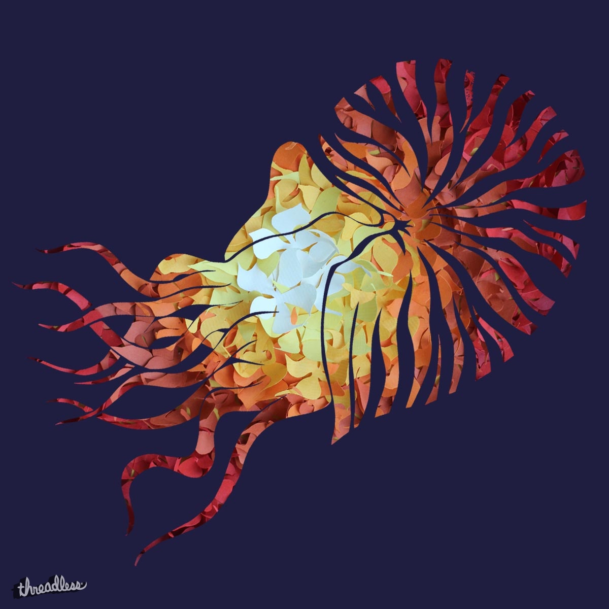 Nautilus, a cool t-shirt design