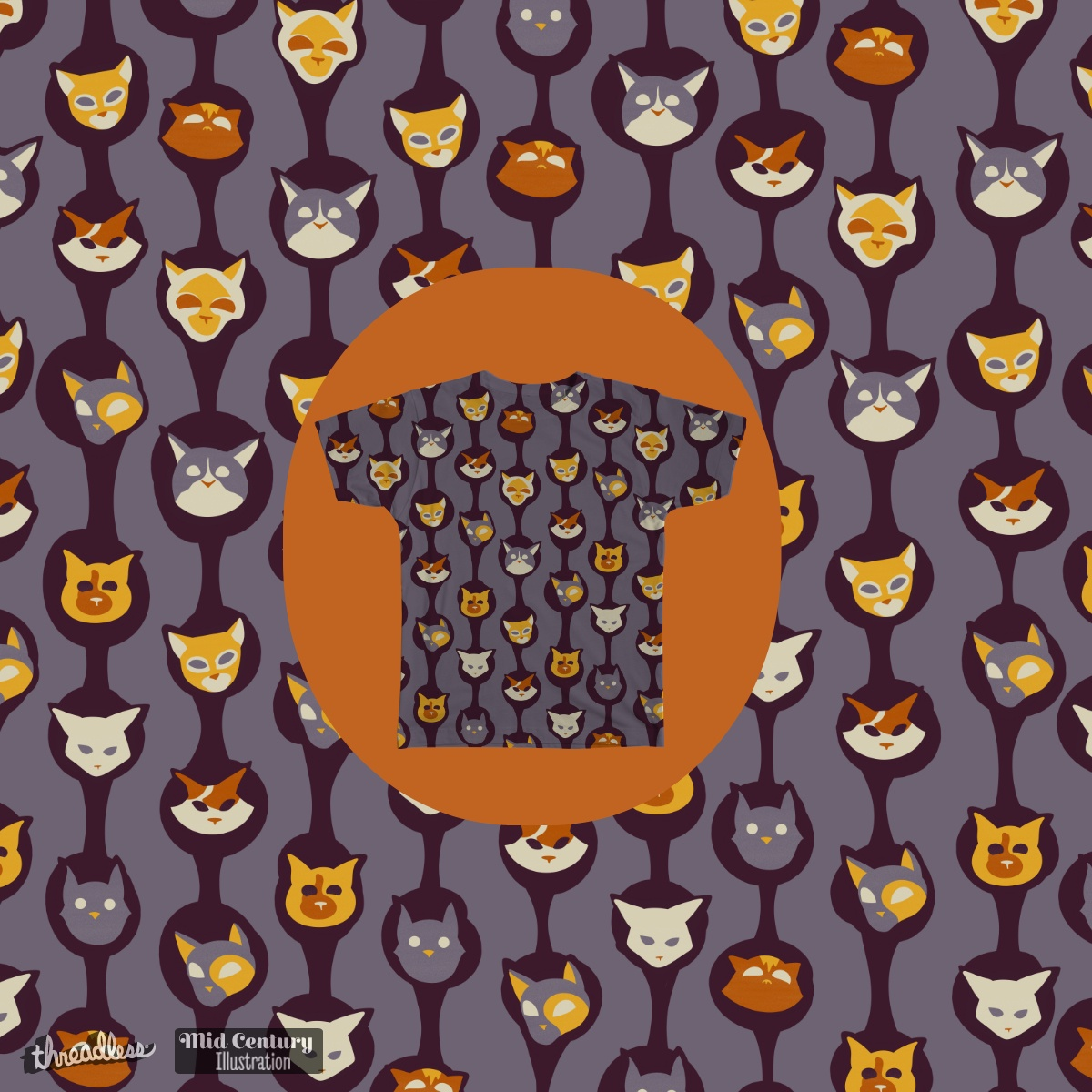 Cool Cats, a cool t-shirt design
