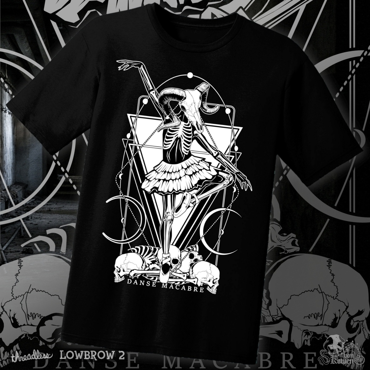 Danse Macabre, a cool t-shirt design