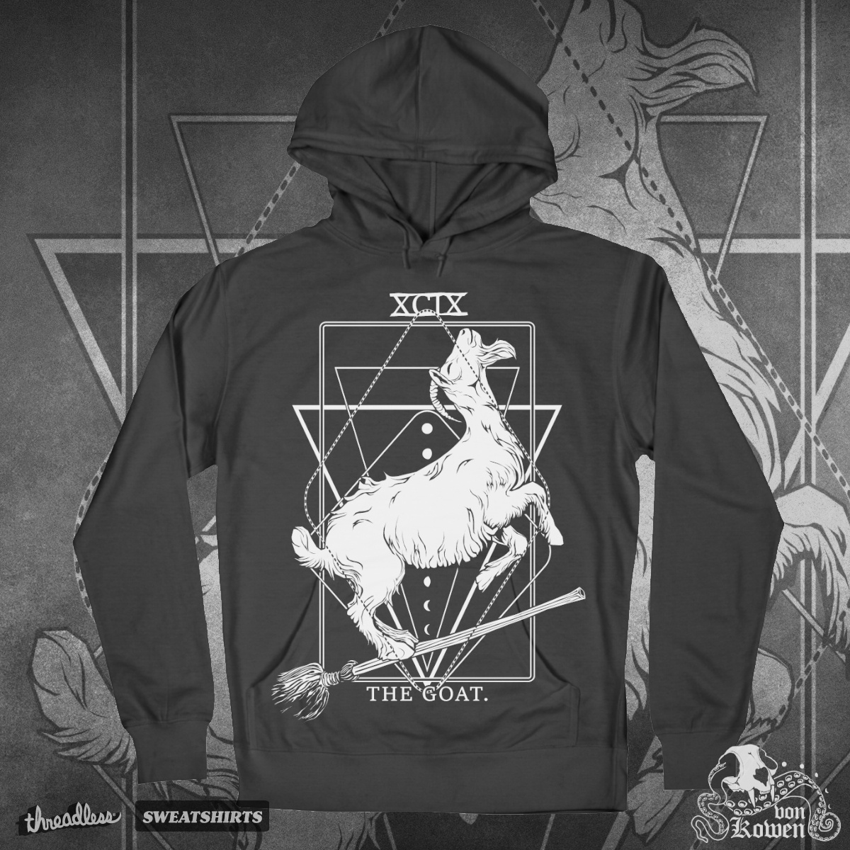 The Goat, a cool t-shirt design