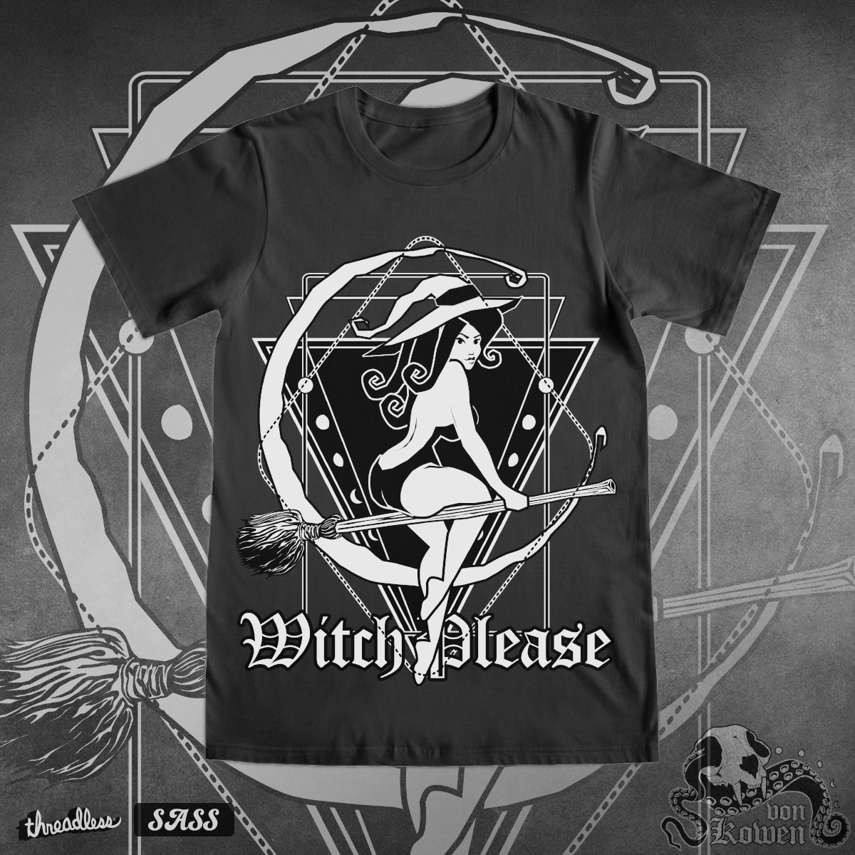 Witch Please, a cool t-shirt design