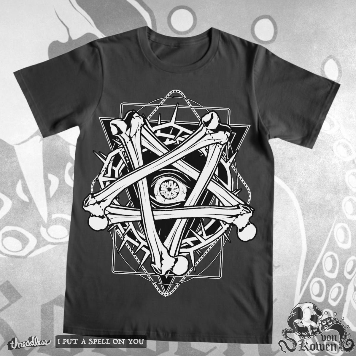 Bonetagram, a cool t-shirt design
